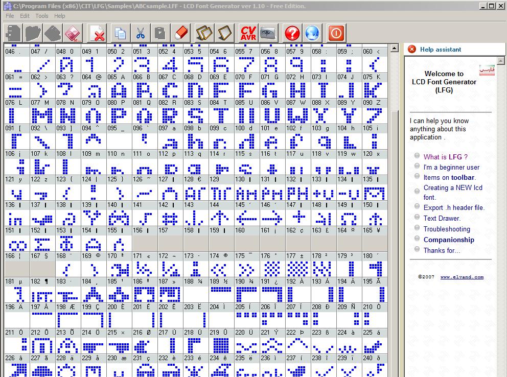 LCF Font Maker
