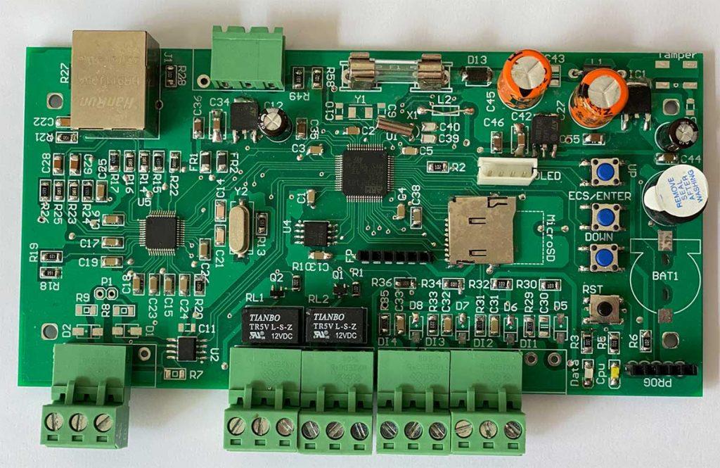 Access control board