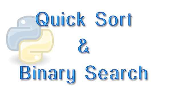 Python BinarySearch